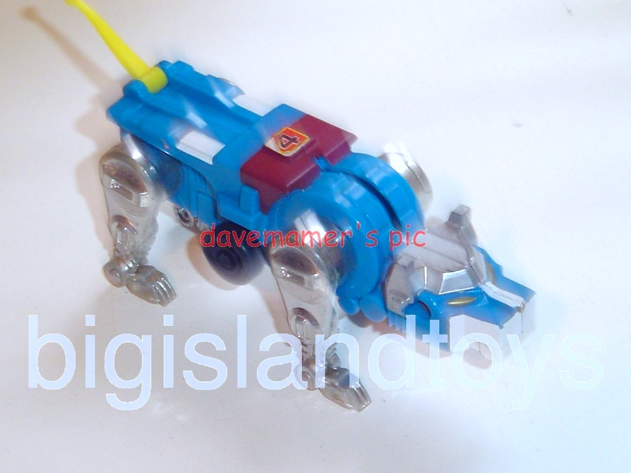 Voltron LJN Robots   Motorized Lion Blue