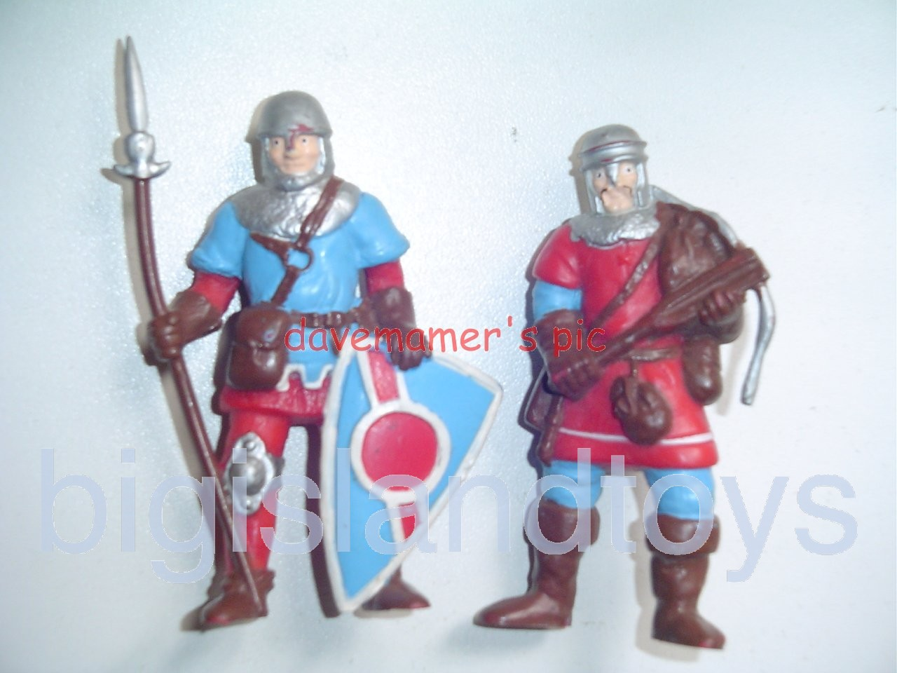 Advanced Dungeons & Dragons PVC Figures   STEADFAST MEN AT ARMS