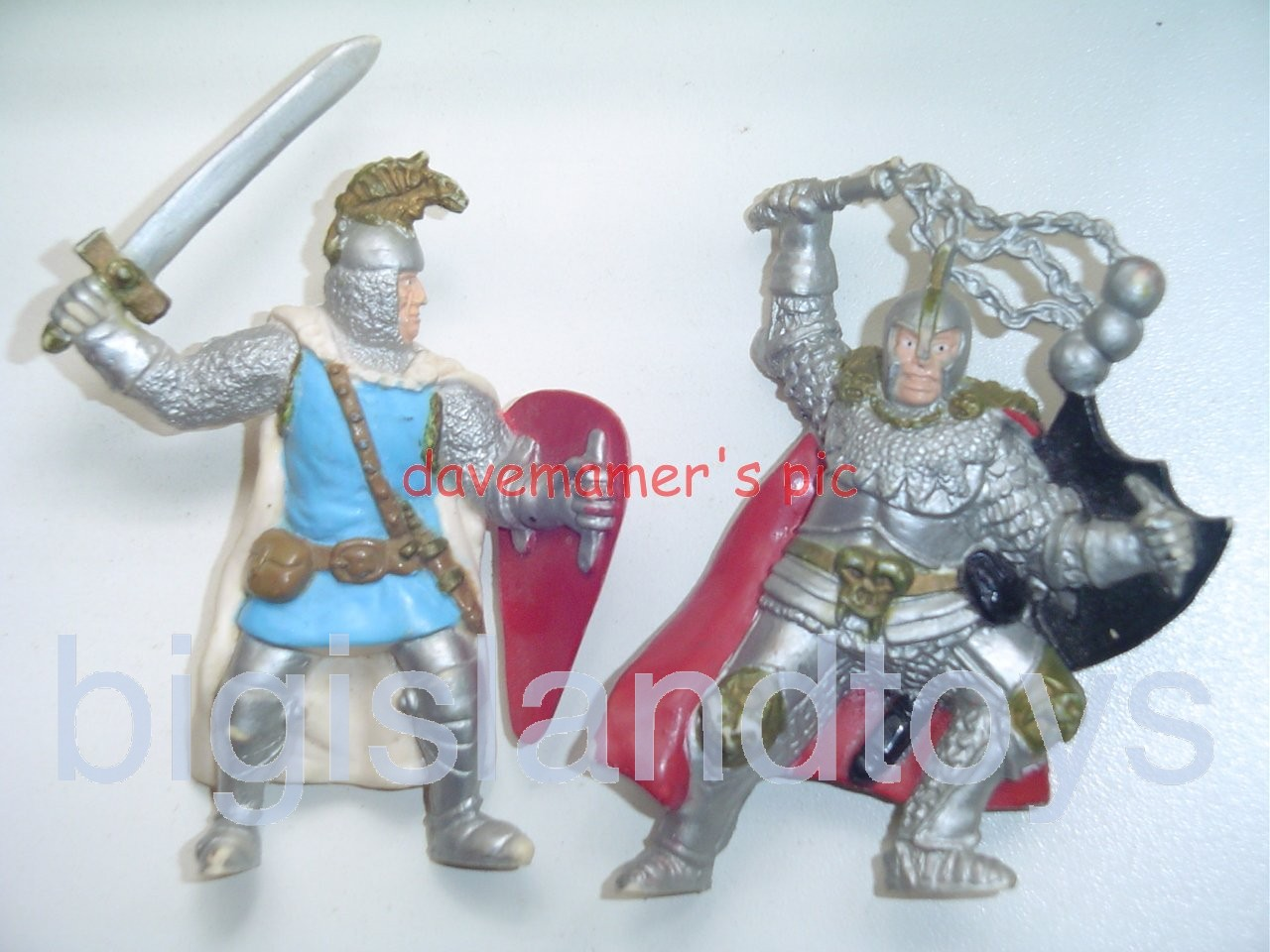 Advanced Dungeons & Dragons PVC Figures   HEROIC MEN AT ARMS