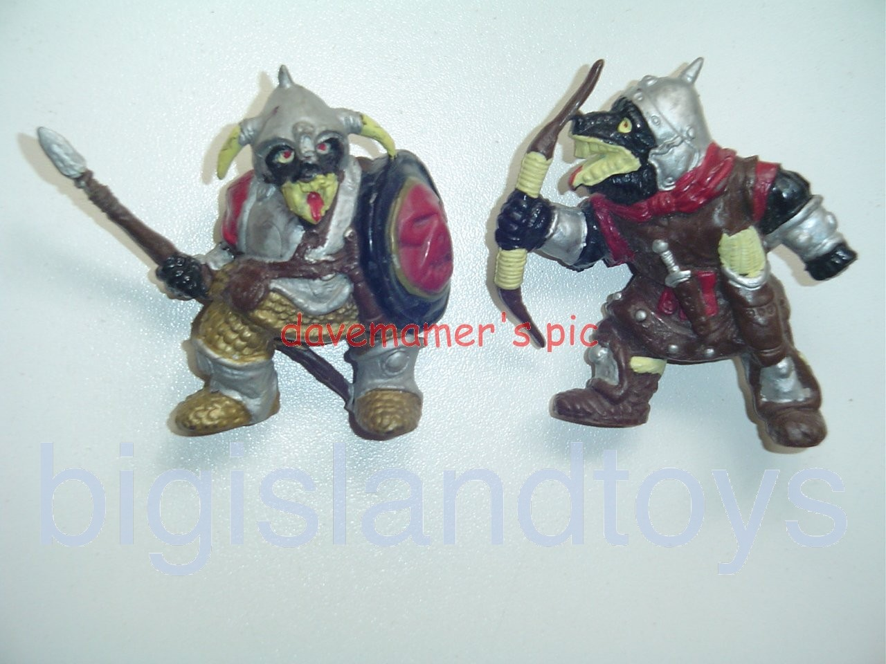 Advanced Dungeons & Dragons PVC Figures   ORCS of the Broken BONE