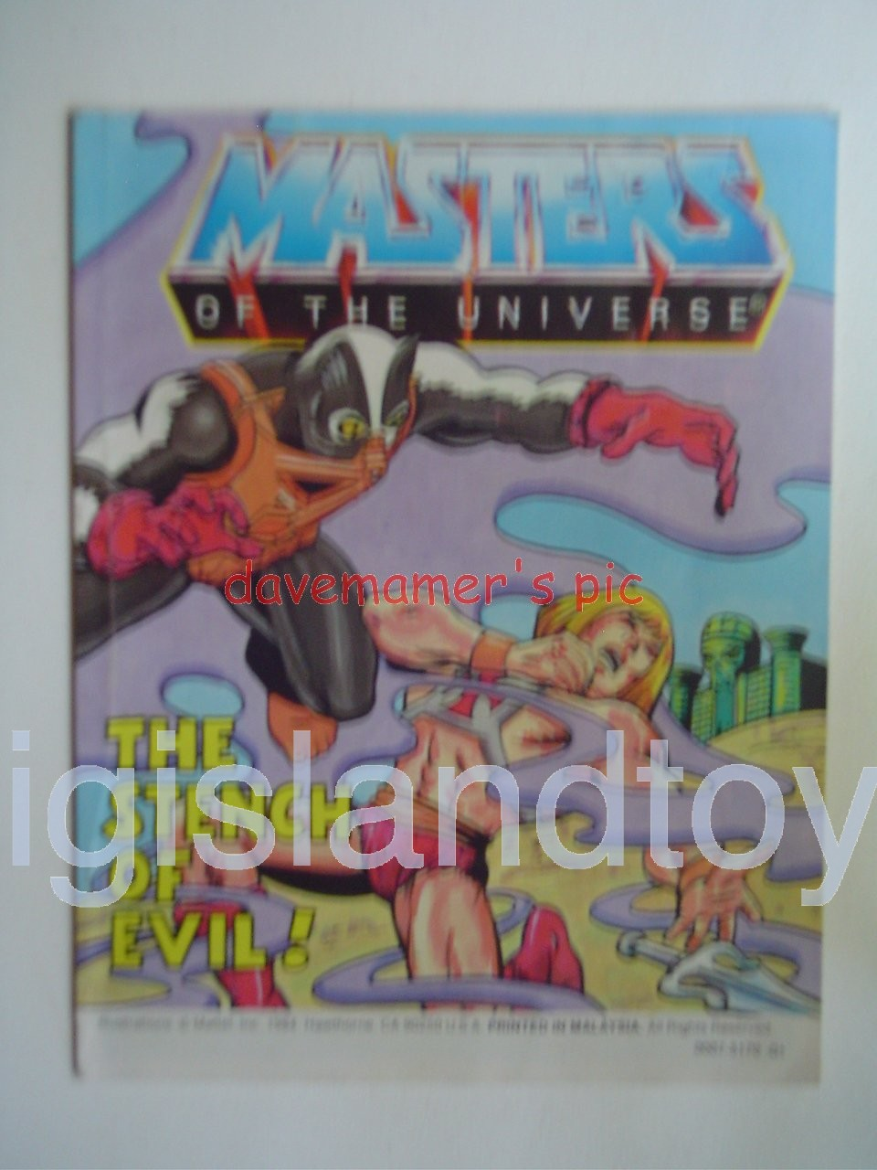 Masters of the Universe Mini Comics   The Stench of Evil!