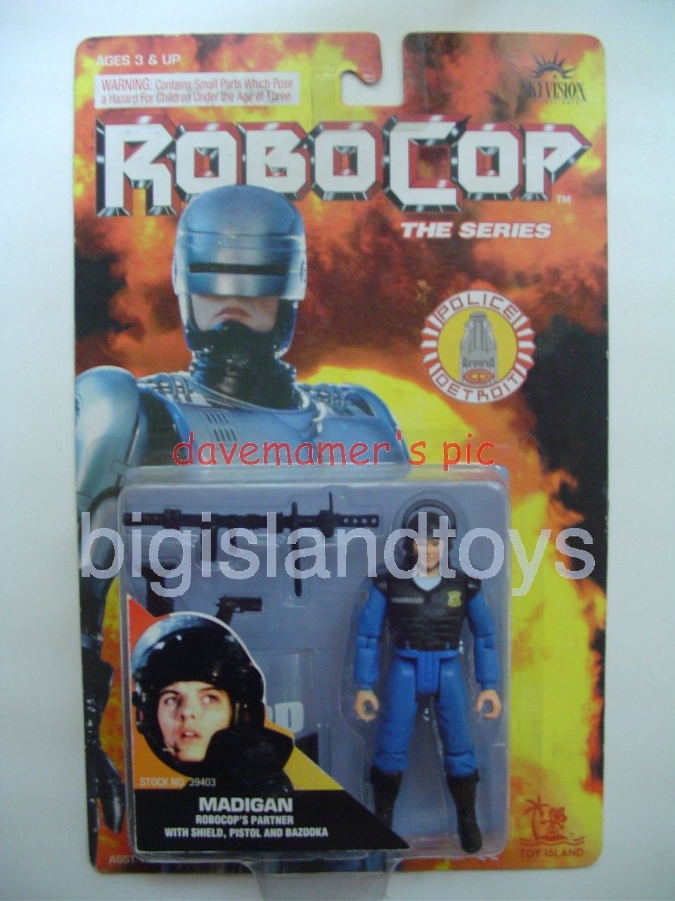 Robocop The Series   Lisa MadiganWith Helmet