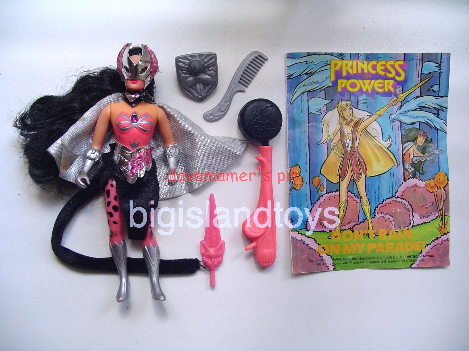 Princess of Power Action Figures   Shower Power Catra