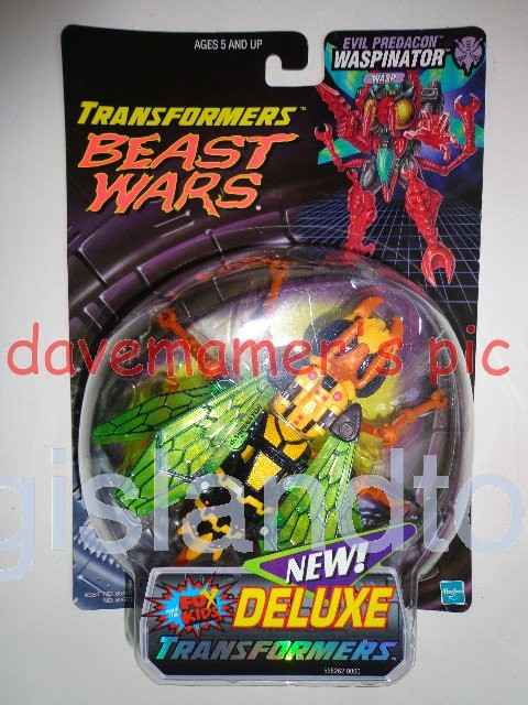 Transformers Beast Wars 1999  Waspinator Fox Kids Transmetals Recolor