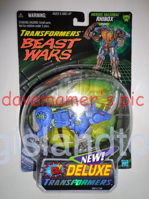 Transformers Beast Wars 1999  Rhinox Fox Kids Transmetals Recolor