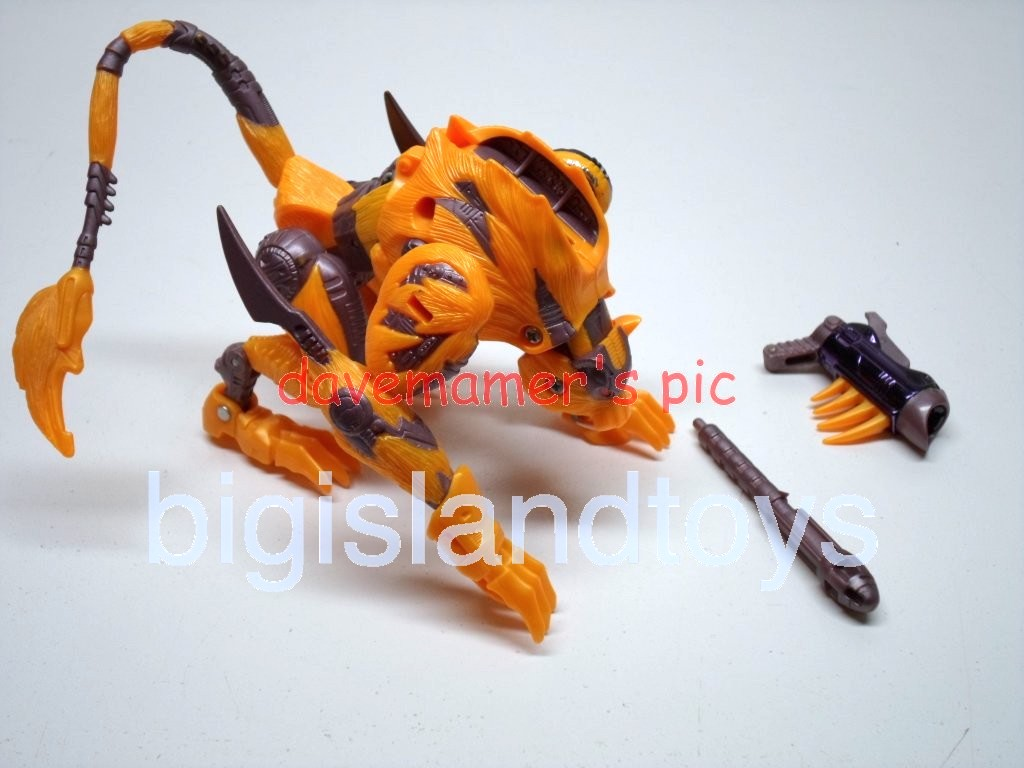 Transformers Beast Wars 1999  CheetorPackaging variations: II and 2