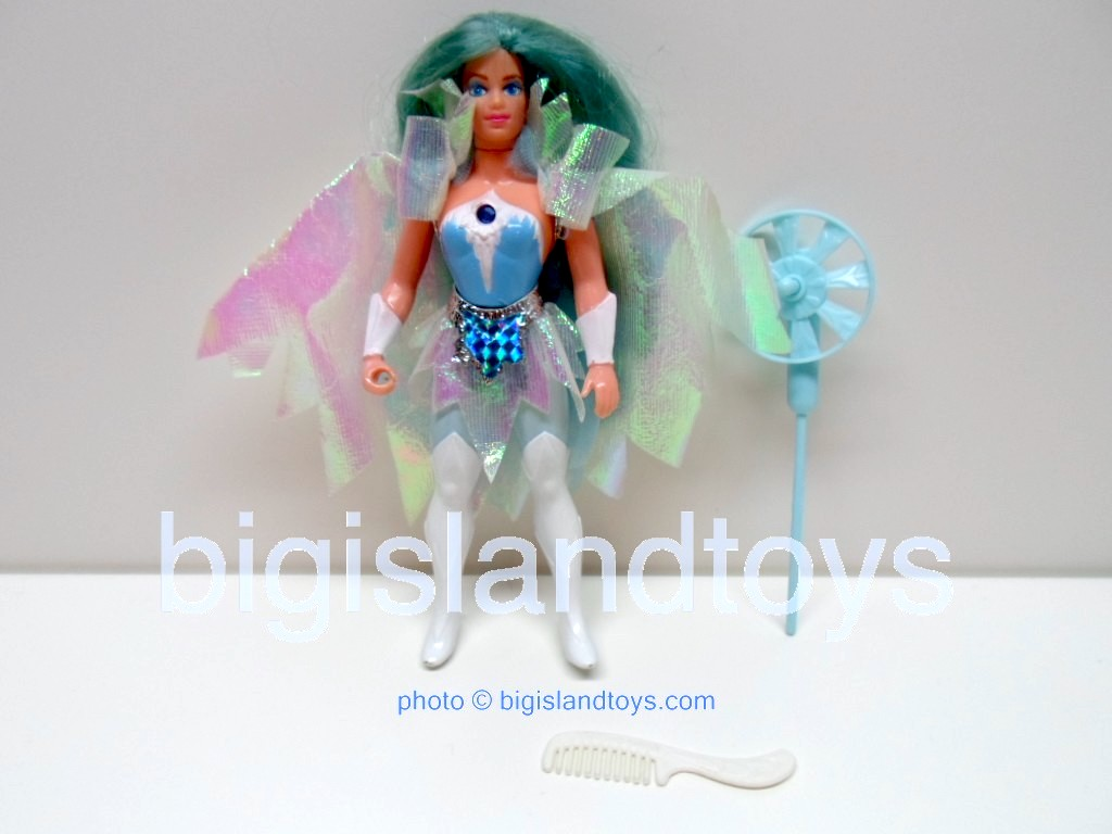 Princess of Power Action Figures   Frostawith white comb