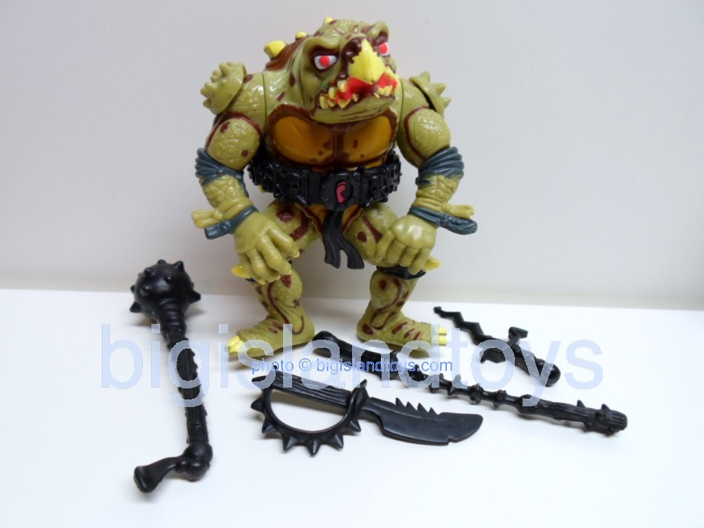 Teenage Mutant Ninja Turtles 1991 Figures   Movie Star Tokka brown highlights
