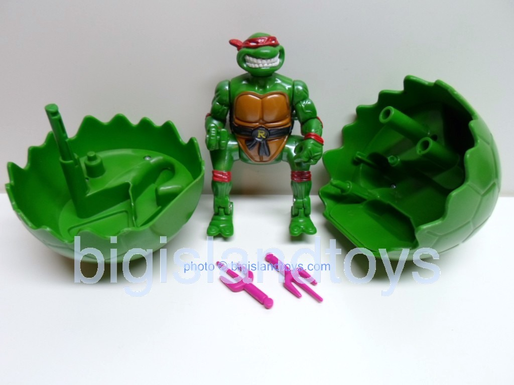 Teenage Mutant Ninja Turtles 1994 Figures      SHELL SPLIITIN RAPHAEL