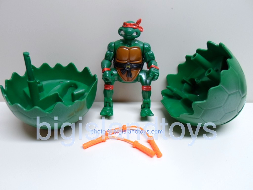 Teenage Mutant Ninja Turtles 1994 Figures      HERO HATCHIN MICHAELANGELO