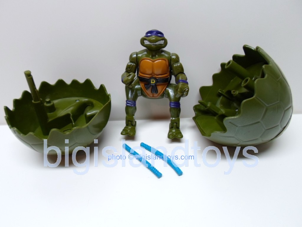 Teenage Mutant Ninja Turtles 1994 Figures   EGGSPLODIN DONATELLO