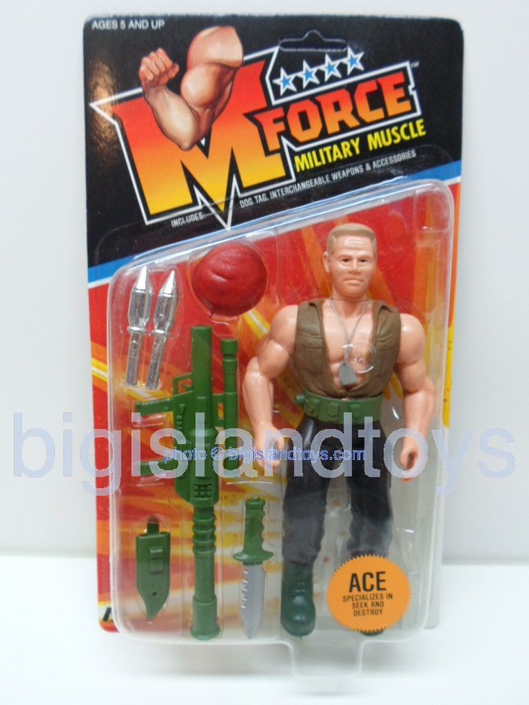 M Force Military Muscle    ACE Specializes in Seek and Destroy