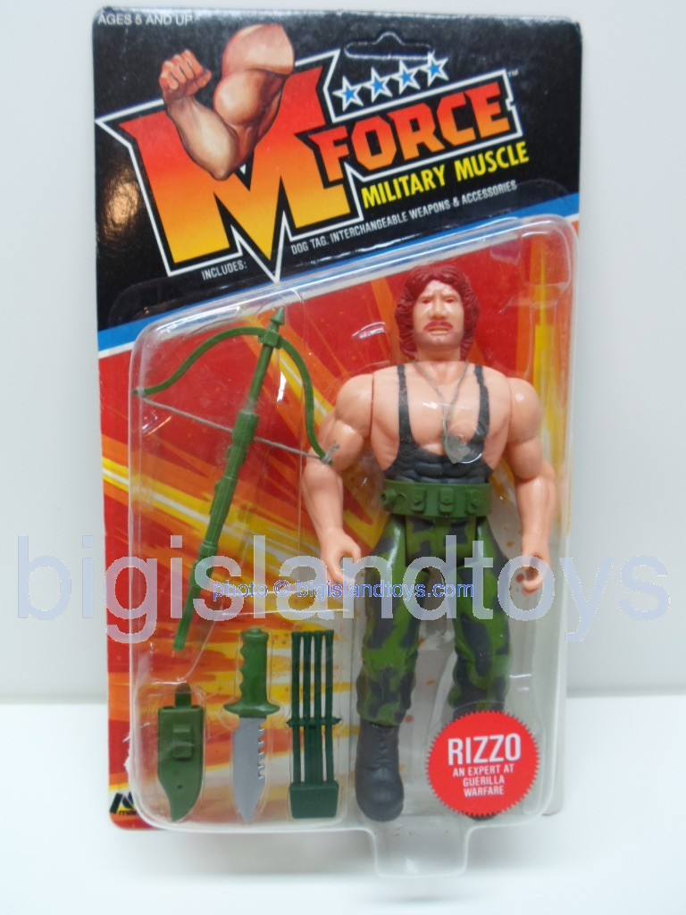 M Force Military Muscle    RIZZO an Expert in Geurilla Warfare