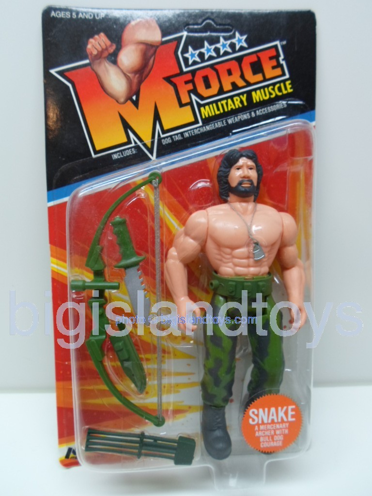 M Force Military Muscle    SNAKE a Mercenary Archer with Bull Dog Courage