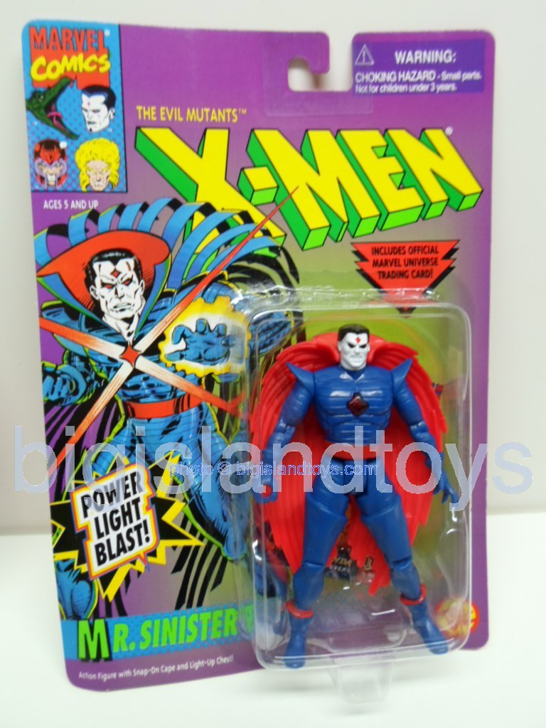 X-Men Uncanny Series 2  Mr. Sinister  Red Cape