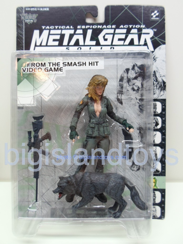 Metal Gear Solid Tactical Espionage   SNIPER WOLF
