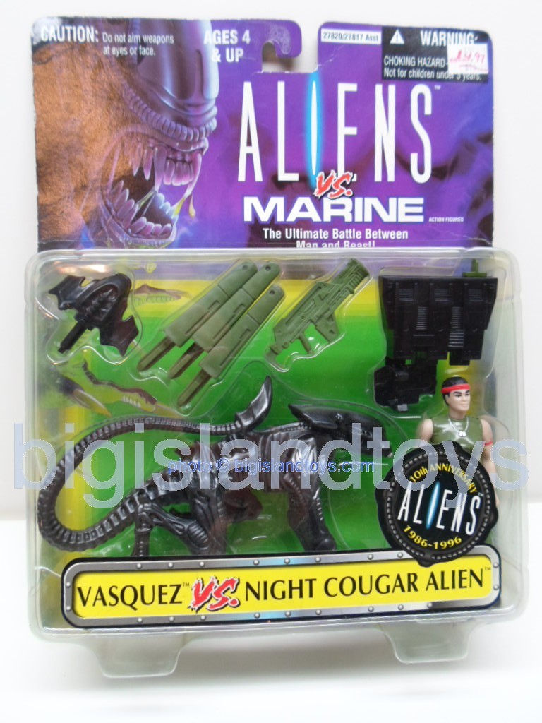 Aliens    Vasquez vs Night Cougar Alien