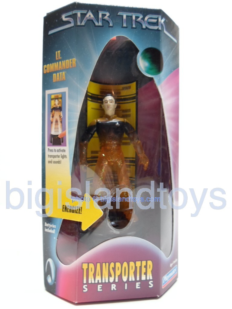 Star Trek  Transporter Series   Lt Commander Data Transporter Series