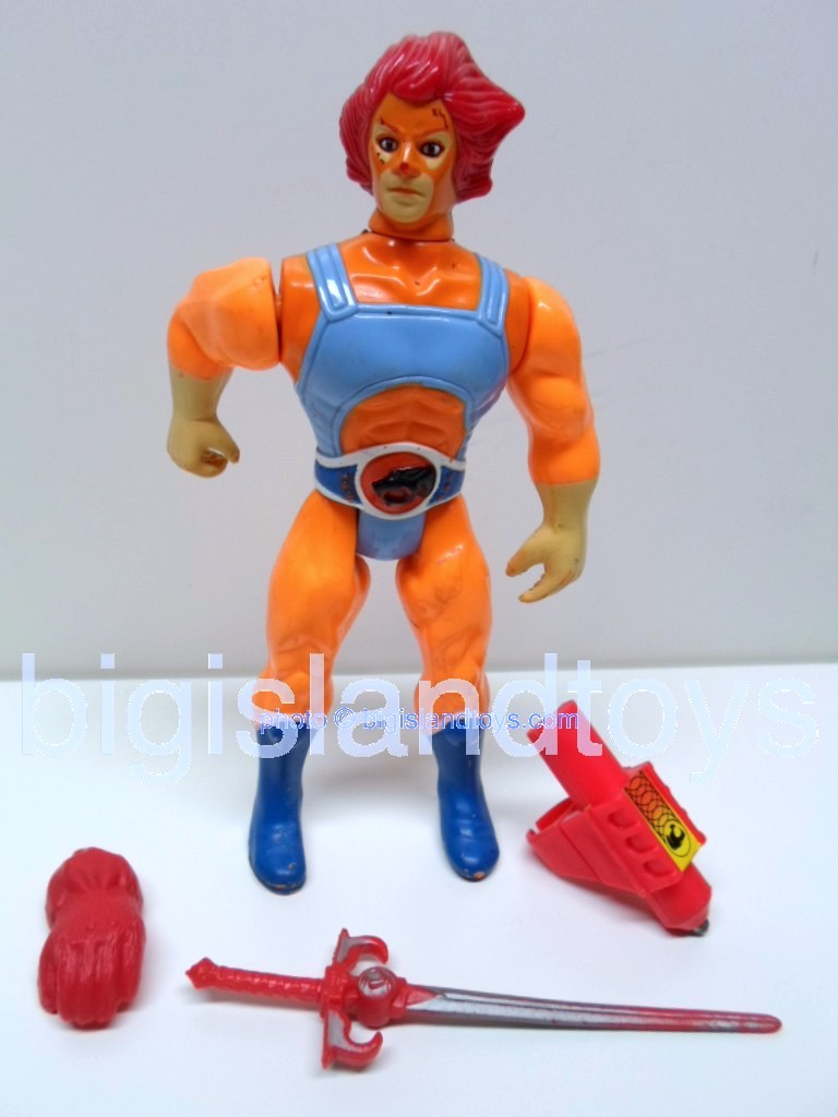Thundercats Standard Figures   Lion-ORed hair and Accessories
