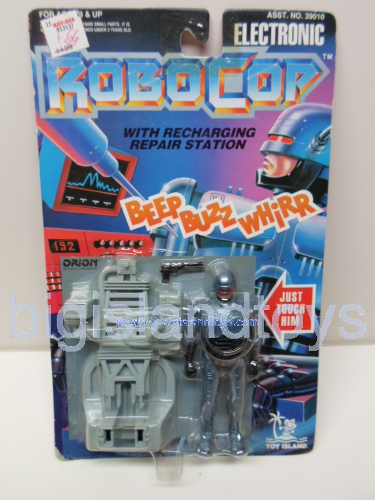 Robocop The Series   ROBOCOP WITH RECHARGING REPAIR STATION