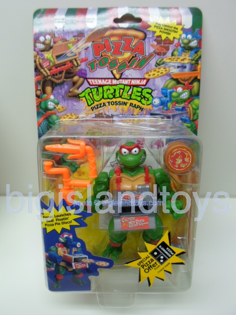 Teenage Mutant Ninja Turtles 1994 Figures   PIZZA TOSSIN RAPH RAPHAEL