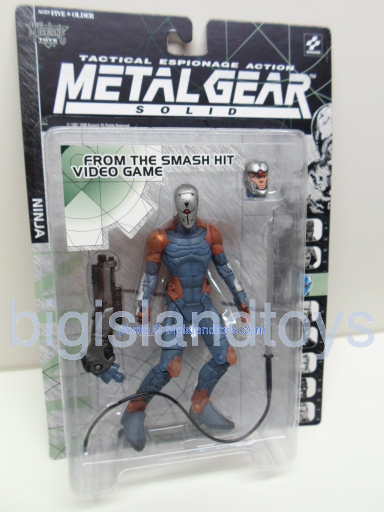 Metal Gear Solid Tactical Espionage   NINJAclosed mask on