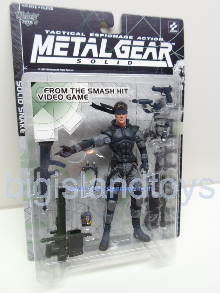 Metal Gear Solid Tactical Espionage   SOLID SNAKE