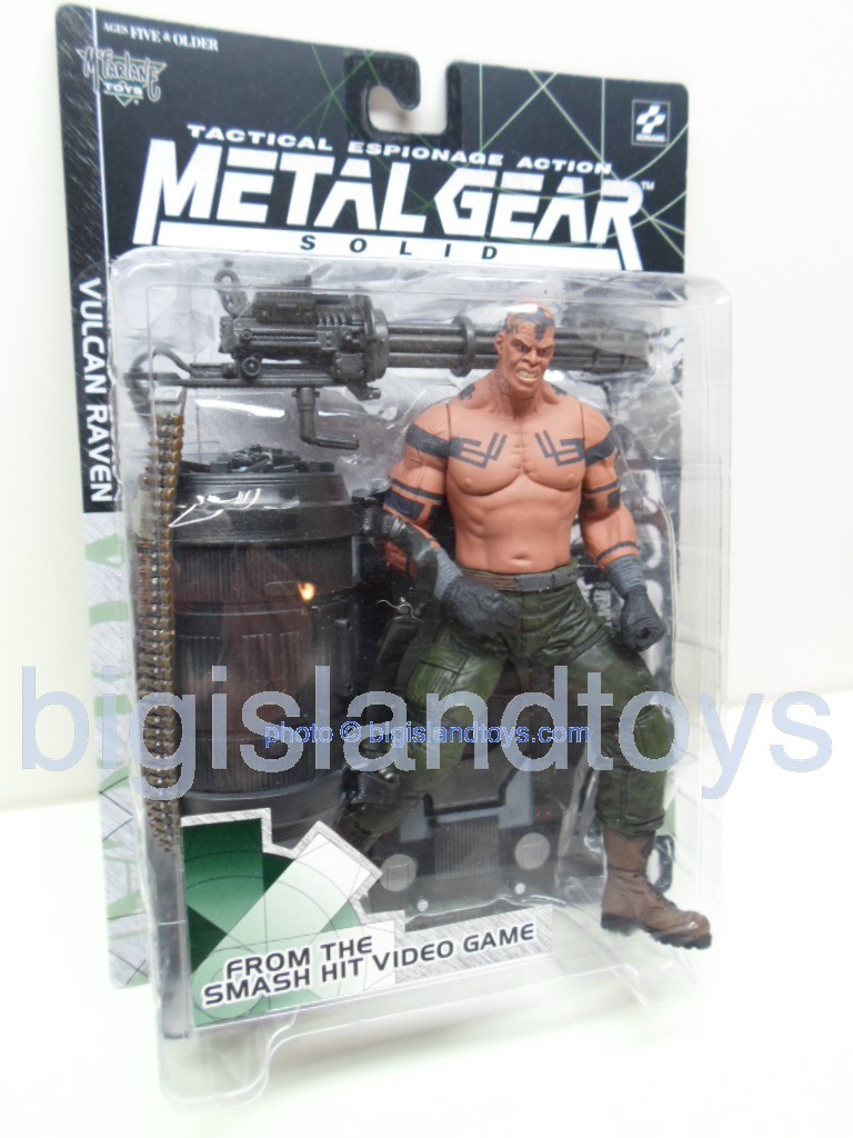 Metal Gear Solid Tactical Espionage   VULCAN RAVEN