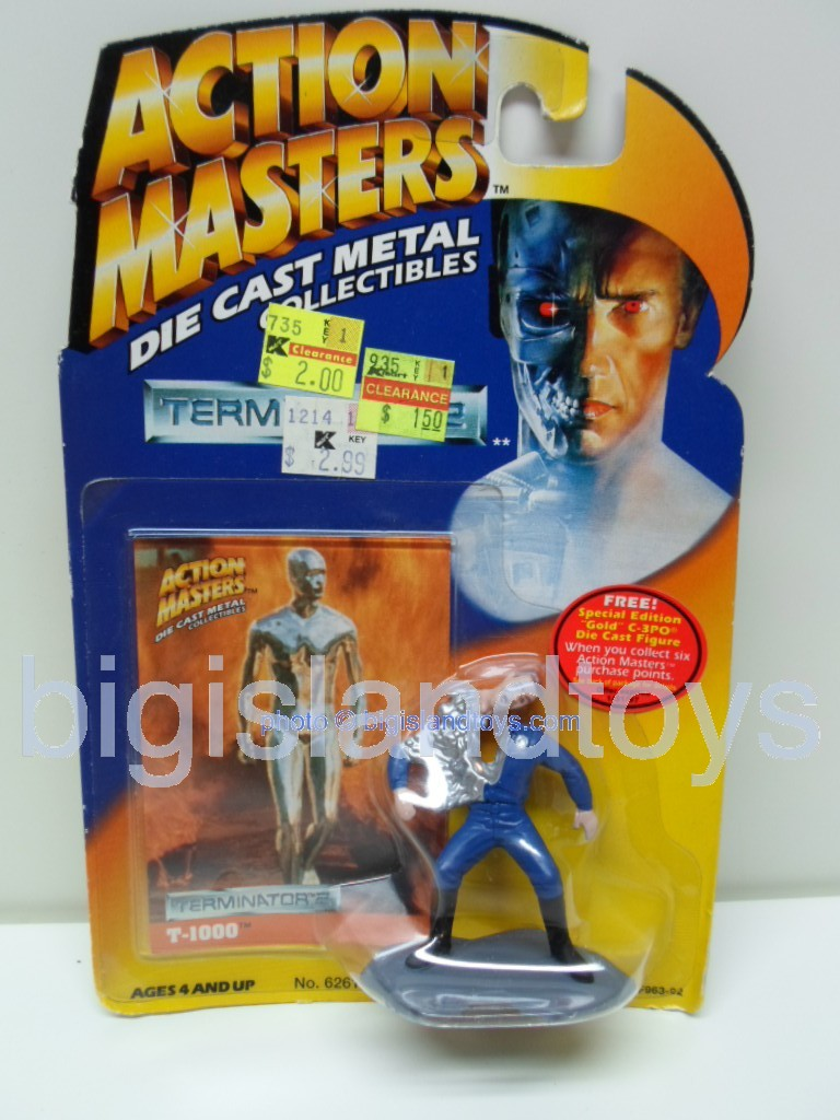 Terminator 2    Action Masters T-1000