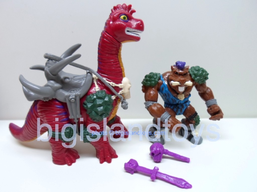 Teenage Mutant Ninja Turtles 1994 Figures   BEBOP AND BODACIOUS BRONTOSAURUS
