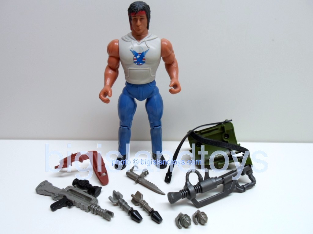 Rambo and the Forces of Freedom    Fire Power RamboSmall head
