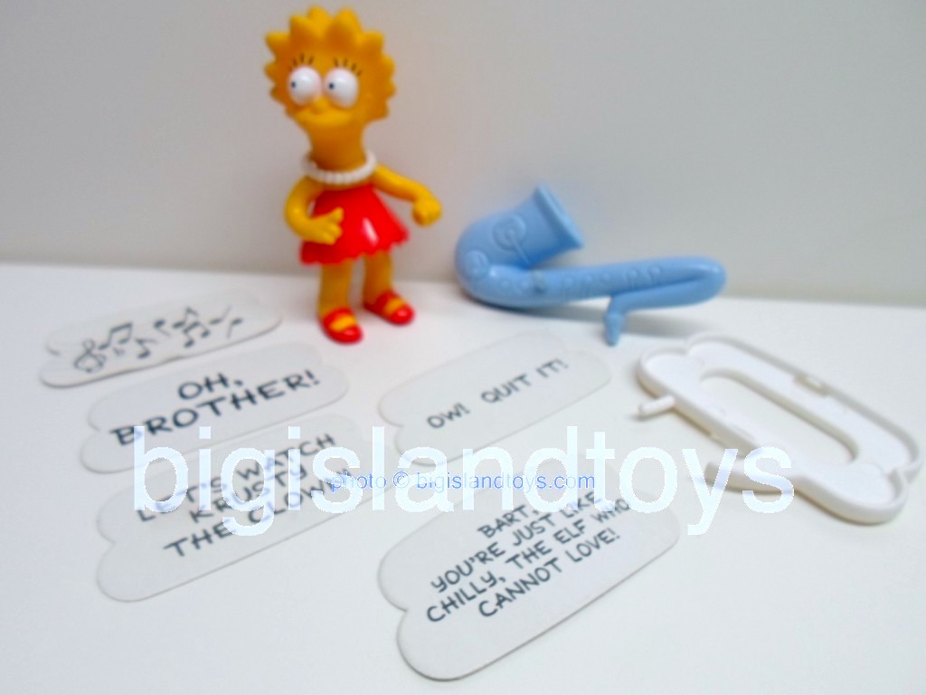 The Simpsons By Mattel   Lisa Simpson
