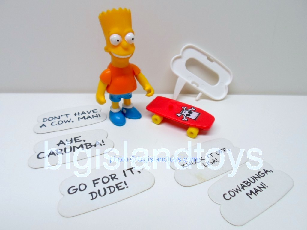The Simpsons By Mattel   Bart Simpson