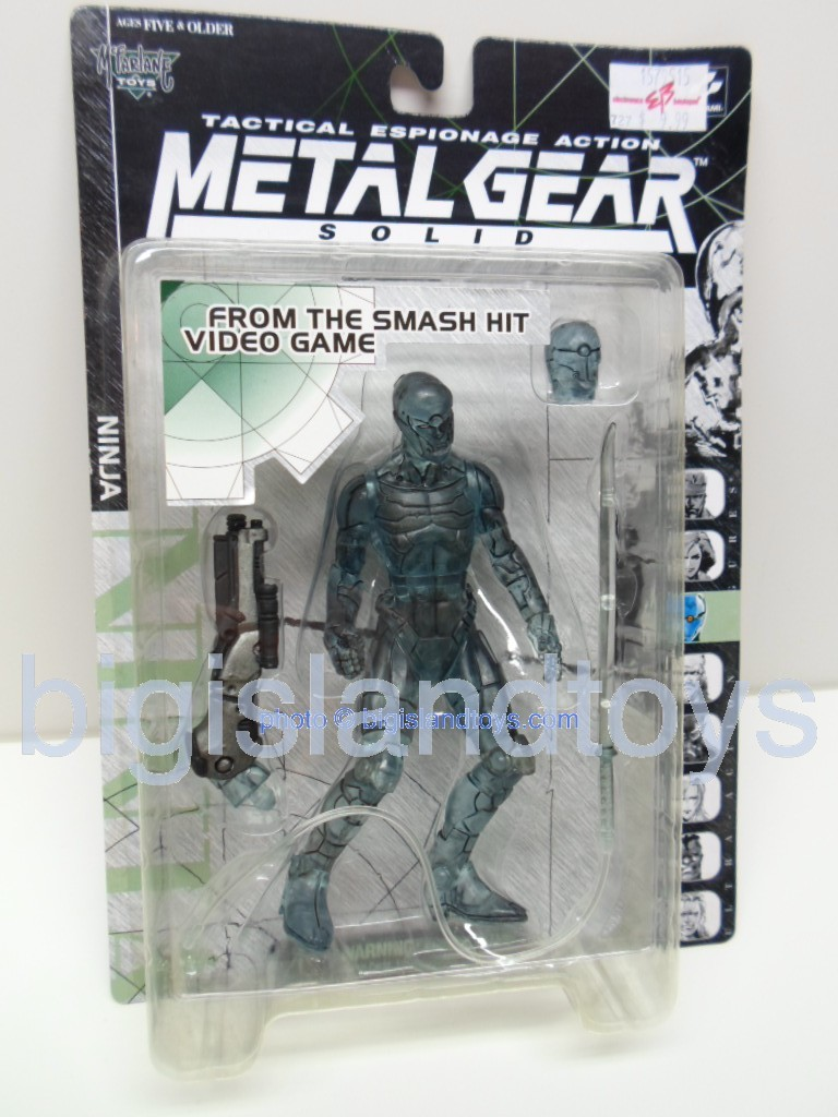 Metal Gear Solid Tactical Espionage   NINJA Stealth Camouflage Clear