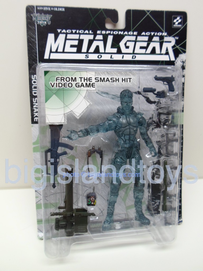 Metal Gear Solid Tactical Espionage   SOLID SNAKE Stealth Camouflage Clear