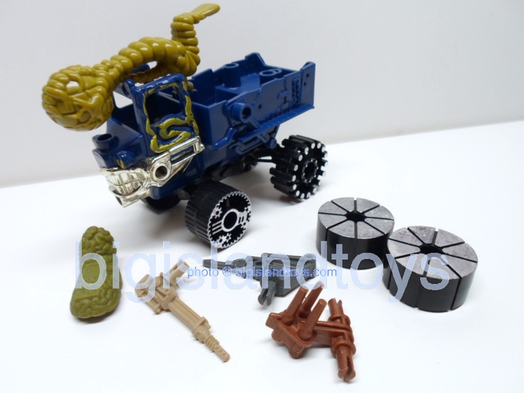 Wheeled Warriors Monster Minds   K O Kruiser