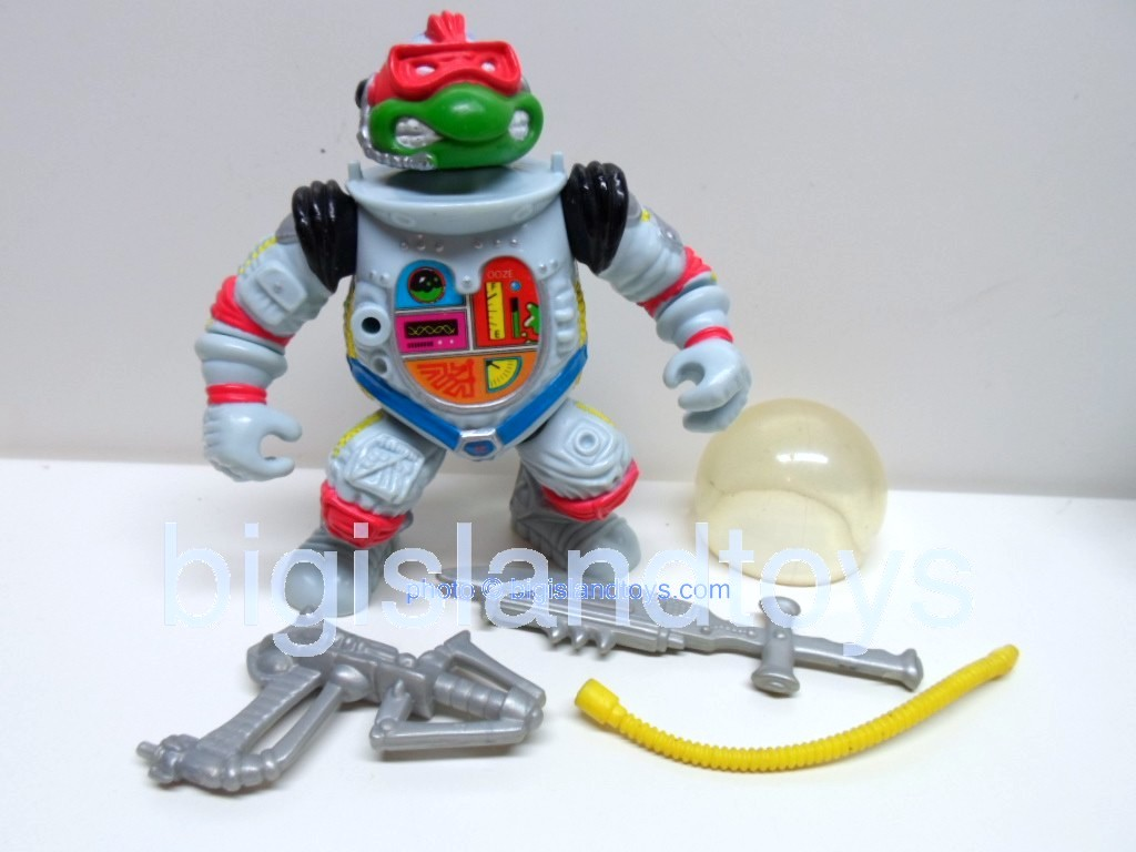 Teenage Mutant Ninja Turtles 1991 Figures   RAPH THE SPACE CADET