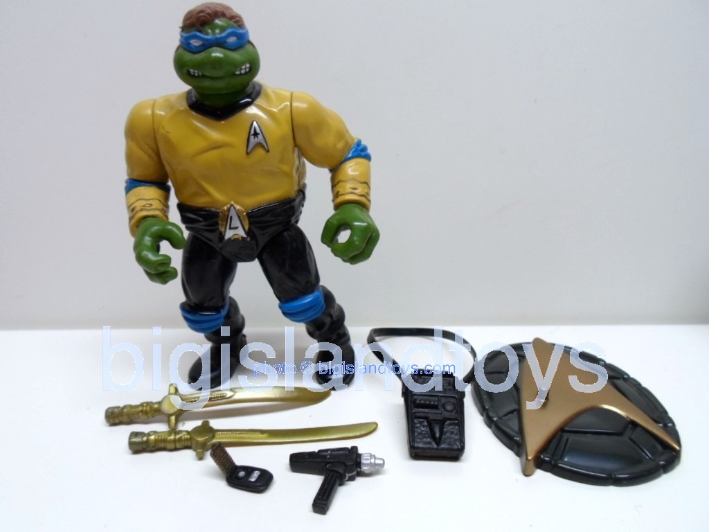 Teenage Mutant Ninja Turtles 1994 Figures   STAR TREK LEO KIRK