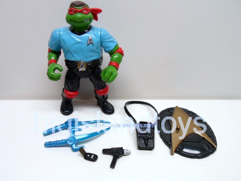Teenage Mutant Ninja Turtles 1994 Figures   STAR TREK RAPH