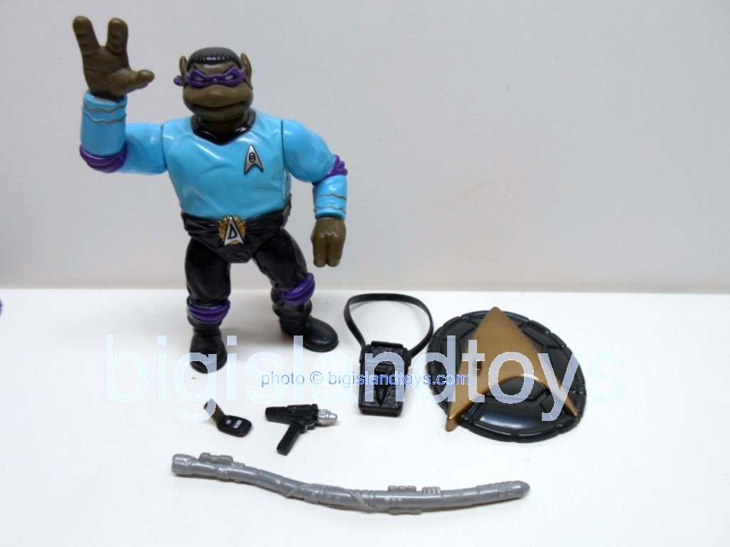 Teenage Mutant Ninja Turtles 1994 Figures      STAR TREK DON
