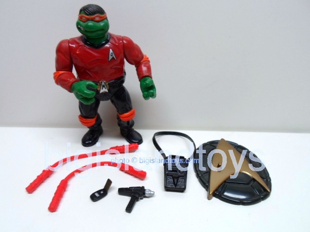 Teenage Mutant Ninja Turtles 1994 Figures   STAR TREK MIKE