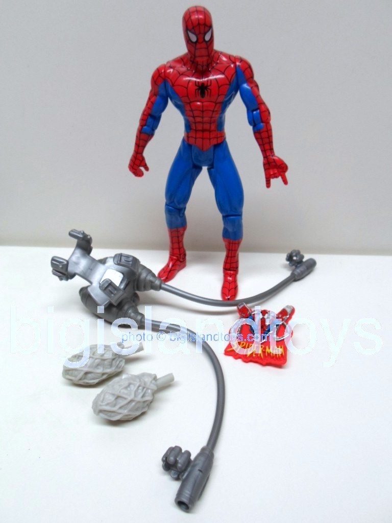 Spider-Man Animated Series Series 6  Spiderman Web Cannon