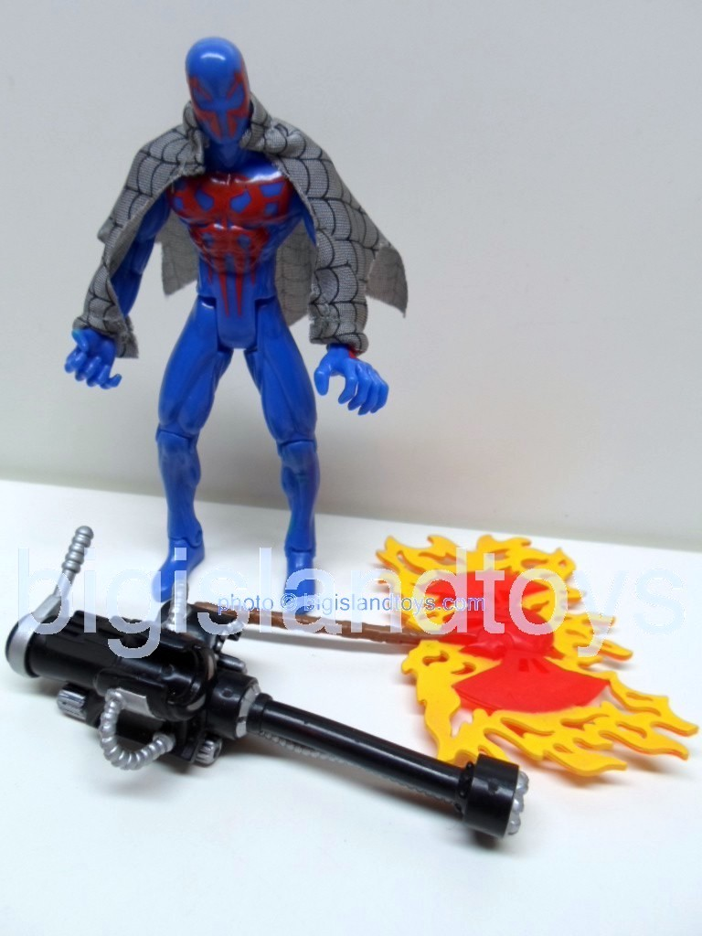 Spider-Man Animated Series Series 6  Spiderman 2099Red Axe
