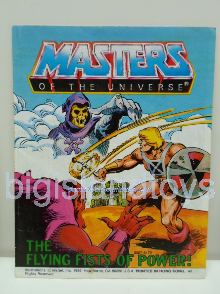 Masters of the Universe Mini Comics   The Flying Fists of Power!