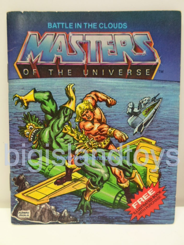 Masters of the Universe Mini Comics   Battle in the Clouds