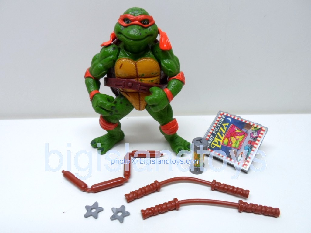 Teenage Mutant Ninja Turtles 1991 Figures       Movie Star Mike