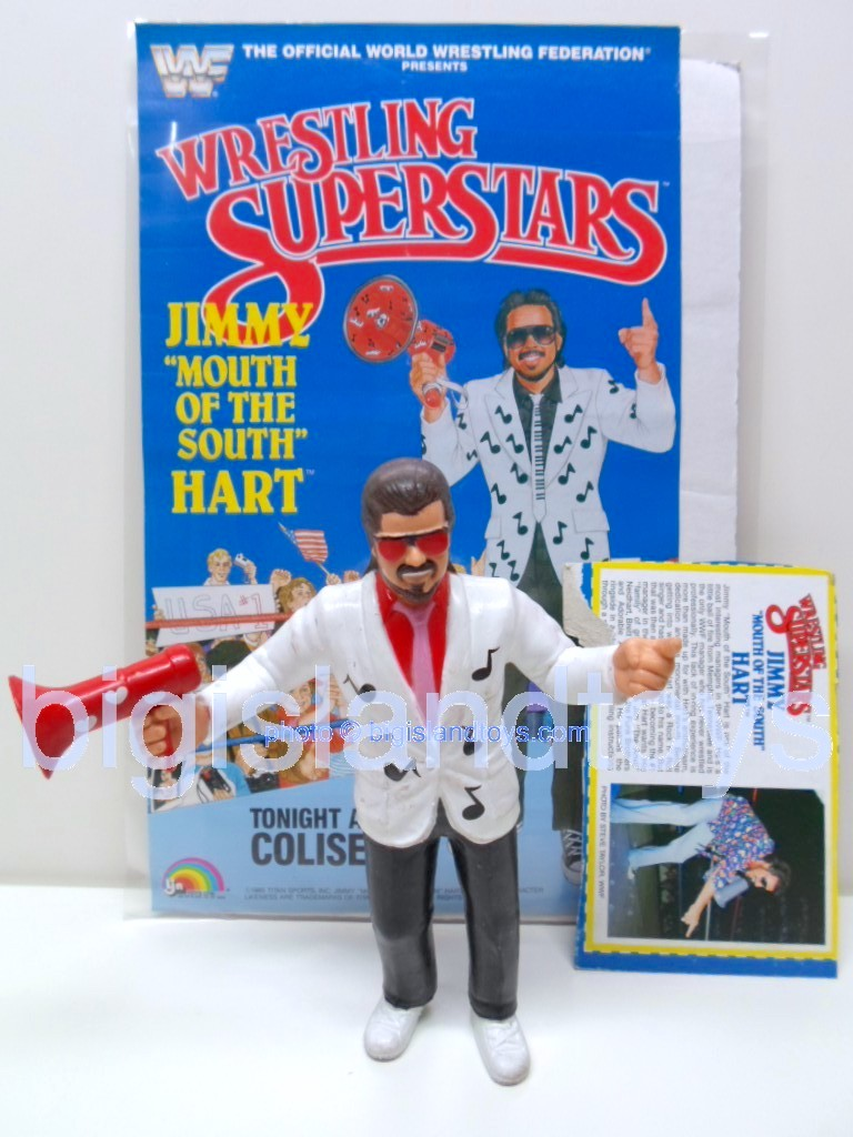 Wrestling Superstars Titan Sports Series 3  Jimmy HartHearts on Megaphone