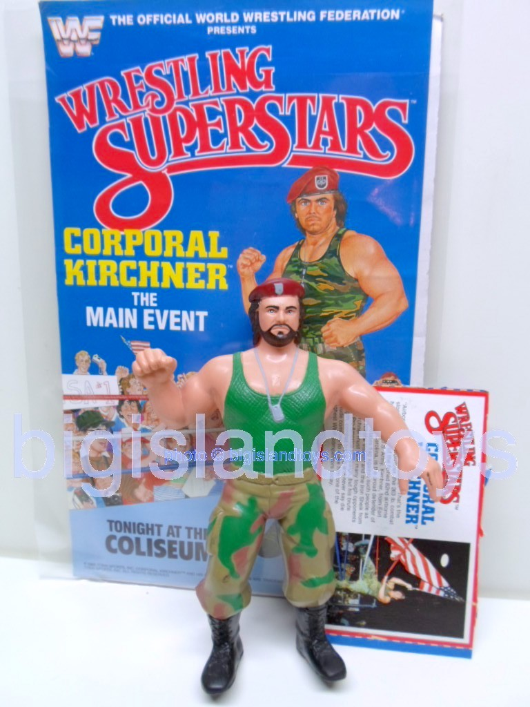 Wrestling Superstars Titan Sports Series 3  Corporal Kirchner
