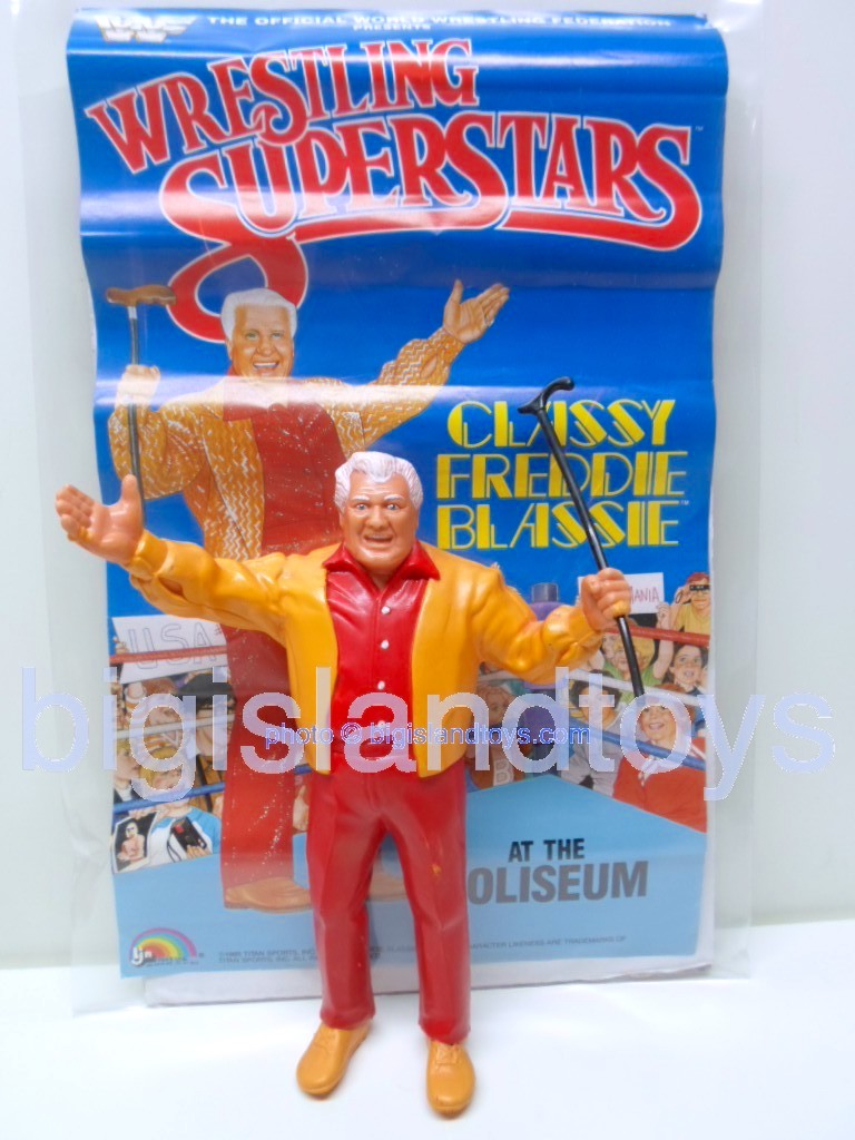 Wrestling Superstars Titan Sports Series 3  CLASSY FREDDIE BLASSIE