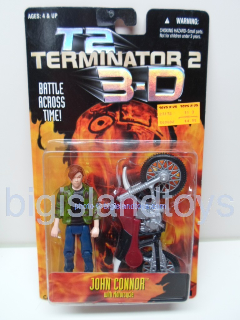 Terminator 2    John Connor with MotorcycleToys R Us